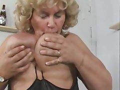 Amateur, BBW, German, Granny, Masturbation