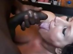 Amateur, Brunette, Cumshot, Interracial