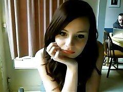 Amateur, Babe, Blowjob, Brunette, Webcam