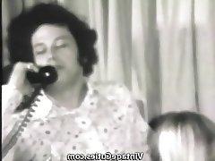 Blowjob, Group Sex, Hairy, Secretary, Vintage