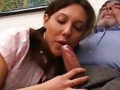 Anal, Blowjob, Brunette, Cumshot, Old and Young