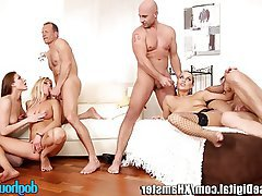 Anal, Babe, Double Penetration, Group Sex, Swinger