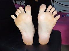 Amateur, Brunette, Foot Fetish