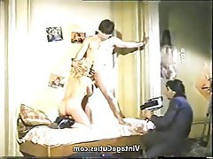 Blowjob, Hairy, Vintage, Cunnilingus