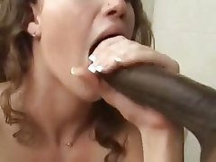 Cum in mouth, Interracial