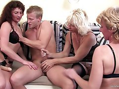Amateur, Granny, Mature, Group Sex, Old and Young