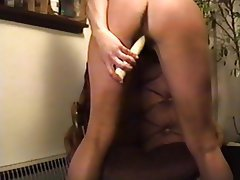 Amateur, Dildo, Hairy, Vintage, Wife