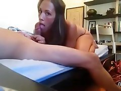 Amateur, Blowjob, Brunette, College