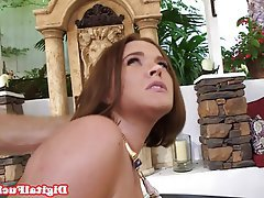 Blowjob, Facial, Massage, Redhead