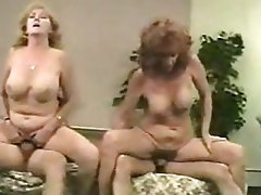 Mature, Vintage, Facial, Old and Young