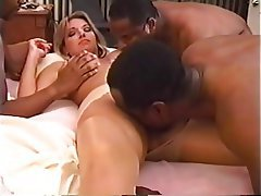 Blonde, Creampie, Interracial, Cuckold, Gangbang