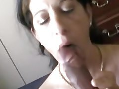 Amateur, Blowjob, Big Boobs, MILF, Homemade