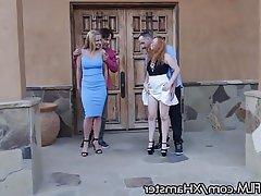 Redhead, MILF, Double Penetration, Swinger