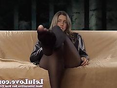 Amateur, Brunette, Femdom, Foot Fetish, Big Tits