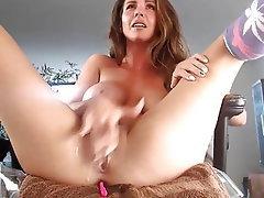 Webcam, Blonde, Pussy