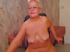 Amateur, Granny, Italian, Mature, Webcam