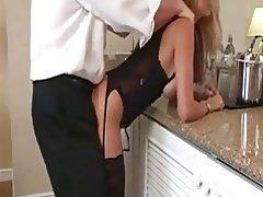 Amateur, Blonde, Blowjob, Lingerie