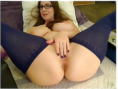 Amateur, Big Boobs, Masturbation, Stockings