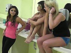 Amateur, Blonde, Brunette, College