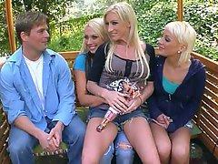 Big Tits, Blonde, Orgy, Pornstar
