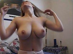 Amateur, Big Tits, Blonde, Fucking, Girlfriend