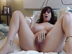 Big Boobs, Masturbation, MILF, Redhead, Webcam