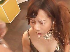 Bukkake, Cumshot, Facial, Japanese