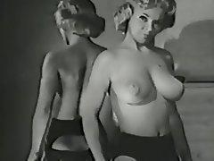 Big Boobs, Blonde, Lingerie, Stockings