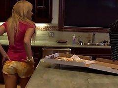 Blonde, Cute, Kitchen, Teen