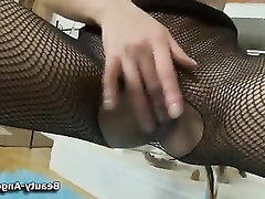 Babe, Stockings, Teen, Toys, Masturbation