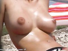 Big Tits, Amateur, Public