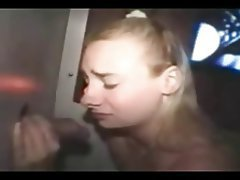Amateur, Blonde, Blowjob, Gloryhole