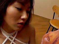 Asian, Babe, Facial, Japanese