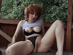 Amateur, Masturbation, Mature, MILF, Redhead