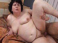 Granny, Blowjob, Hardcore, Old and Young, Creampie