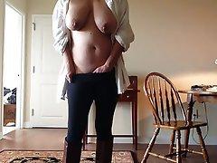 Amateur, Masturbation, Nipples