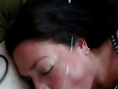 Amateur, Blowjob, Close Up, Cumshot