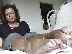 Amateur, Foot Fetish, Masturbation, POV
