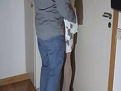 Amateur, Handjob, Stockings