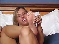 Blonde, Foot Fetish