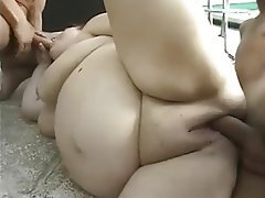 Amateur, BBW, Facial, Mature, Threesome