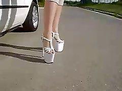 Amateur, Blonde, Outdoor, Foot Fetish
