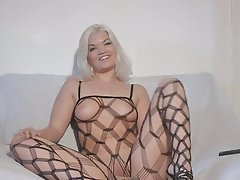 Amateur, Cuckold, German, Masturbation, Pantyhose