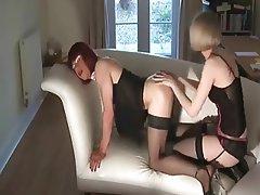 BDSM, Bisexual, Femdom, Strapon, Lingerie