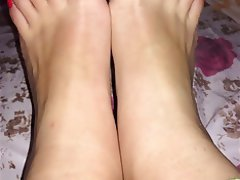 Amateur, Brunette, Foot Fetish