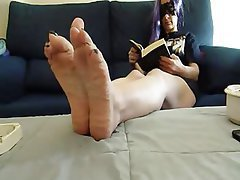 Amateur, Foot Fetish, Pantyhose, Spanish