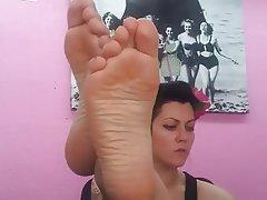 Amateur, Blonde, Foot Fetish, French, POV