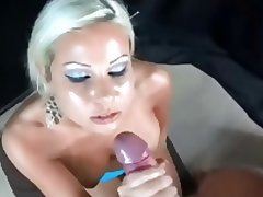 Blonde, Cumshot, Facial