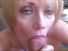 Amateur, Blonde, Facial, Mature, MILF