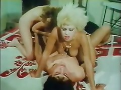 Double Penetration, Group Sex, Hairy, Vintage
